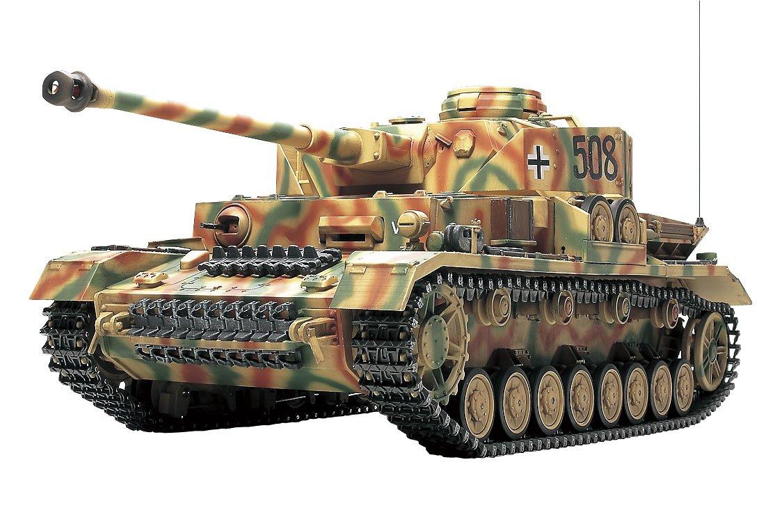 タミヤ 1/16 ラジオコントロールタンクシリーズ No.25 ドイツ IV号戦車J型 フルオペレーションセット (4チャンネルプロポ、バッテリー、充電器付き) 56025 B00187OVVS