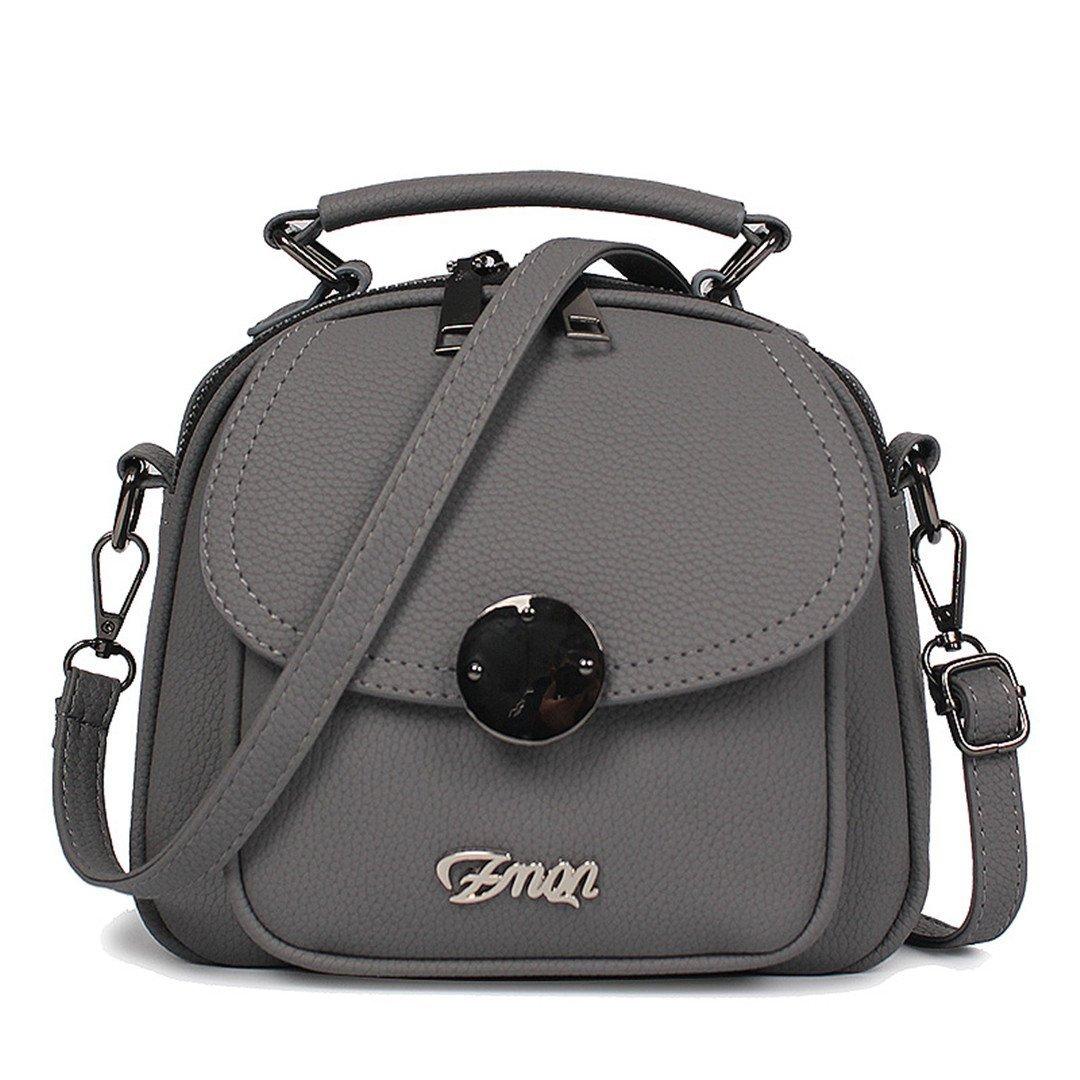 Amazon.com: Women Bag Handbag Famous PU Leather Double ...