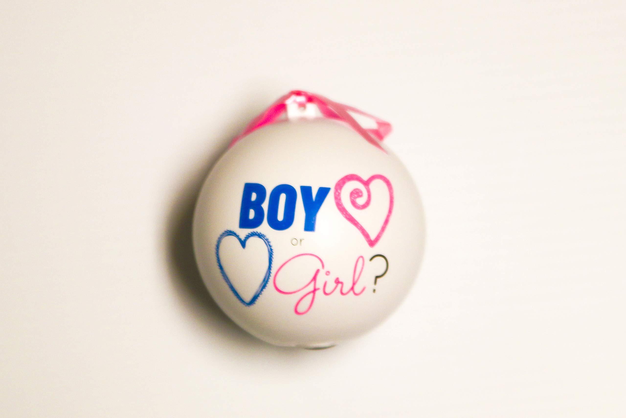 Baby Gender Reveal Exploding Balls (Pink)