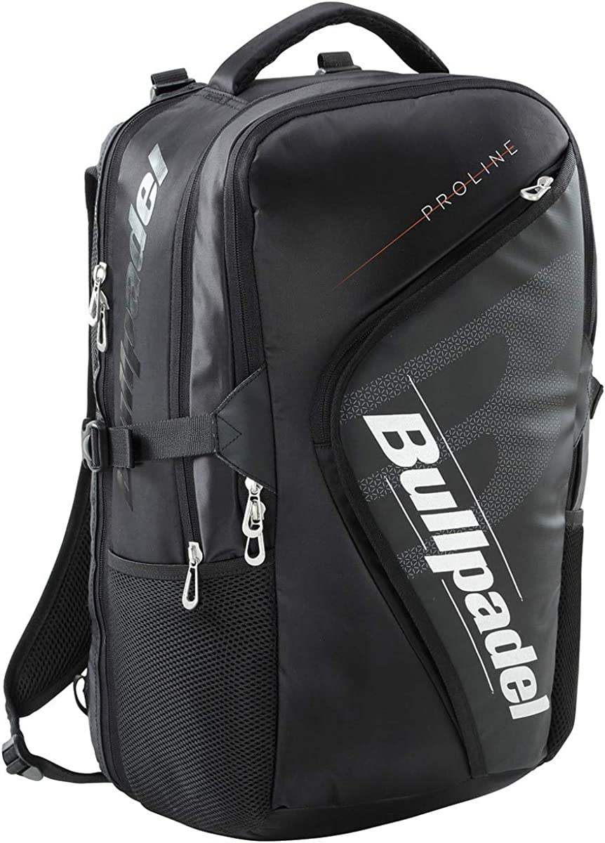 Bull padel Mochila BPM19003 Pro Backpack 2019 Negro Adultos unisex, Multicolor, Talla unica