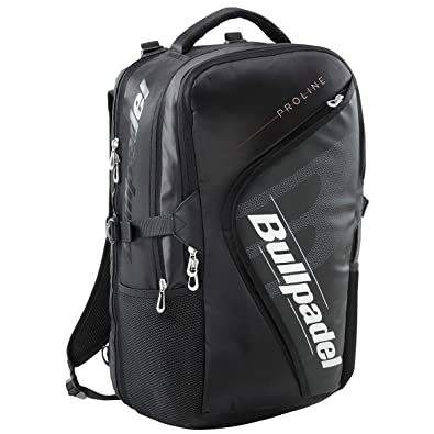 Bull padel Mochila BPM19003 Pro Backpack 2019 Negro Adultos unisex, Multicolor, Talla unica