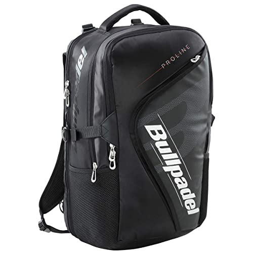 Bull padel Mochila BPM19003 Pro Backpack 2019 Negro Adultos ...