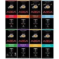 **Discovery Promotion** Café Agga - Variety Pack 80 Nespresso OriginalLine Compatible Capsules