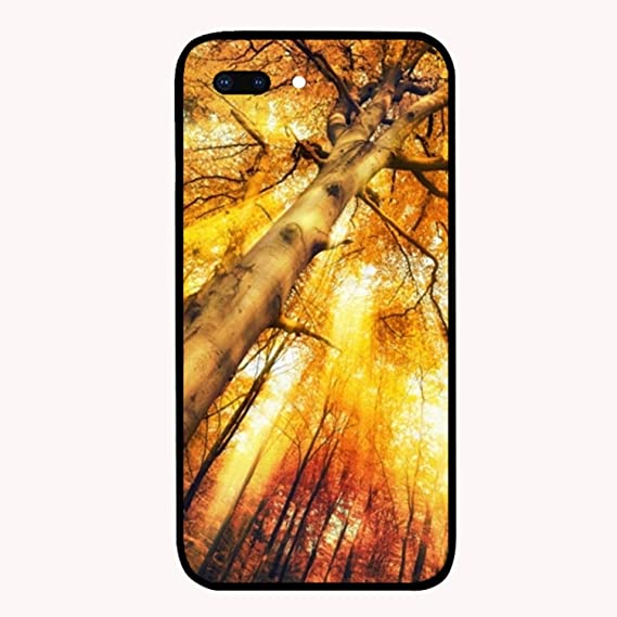 a0cb0ef6014 Amazon.com: Sunset with Maple Custom iPhone 7/8 Plus Cover Ultra ...