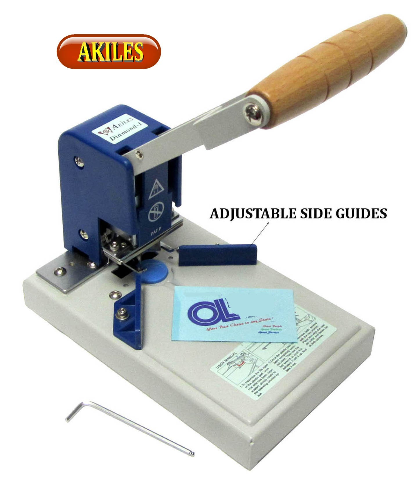 Akiles Diamond-1 Corner Rounder / Corner Cutting Machine w/ 1/4'' Die from ABC Office