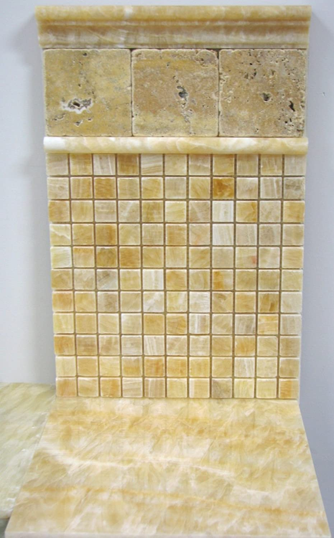 1x1 honey onyx polished mosaic tiles meshed on 12x12 marble tiles 1x1 honey onyx polished mosaic tiles meshed on 12x12 marble tiles amazon dailygadgetfo Images