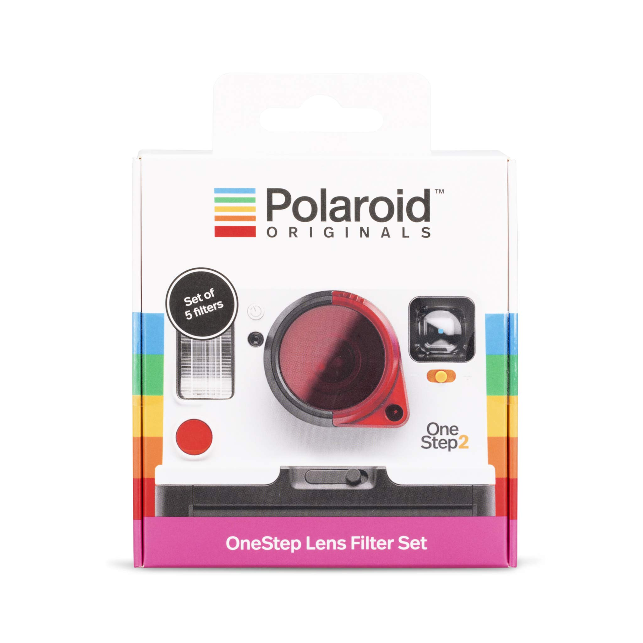Polaroid Originals 4690 One-Step Lens Filter Set, White