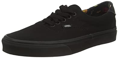 Vans ERA 59(BLACK BLOOM) mens skateboarding shoes VN 0ZMSGYH_4