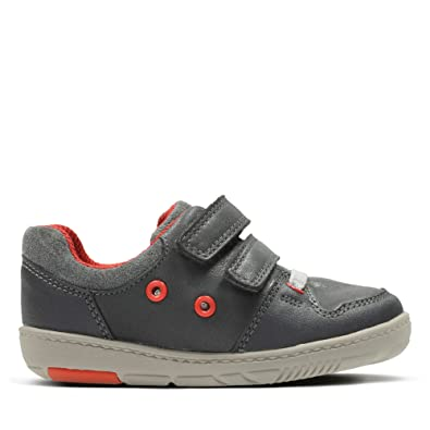 1da2c32d Clarks Tolby Boo Leather Shoes in Grey: Amazon.co.uk: Shoes & Bags