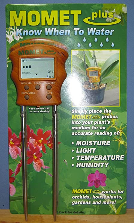 Amazon Com Digital Soil Moisture Meter Mometplus For Orchids And