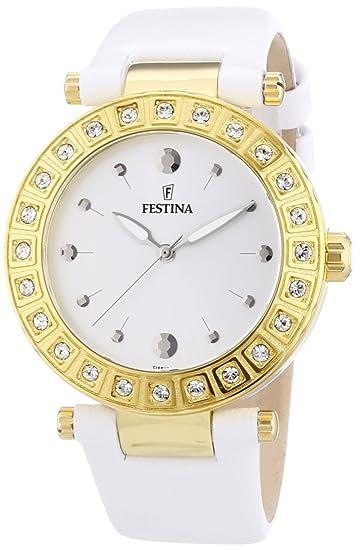 Festina F16646/1 - Reloj de pulsera mujer, piel