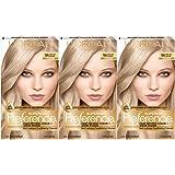 L'Oréal Paris Superior Preference Permanent Hair Color, 9A Light Ash Blonde,3 count