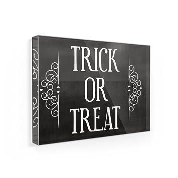 Imán para nevera truco o trato Halloween disfraz de Flourish - Neonblond: Amazon.es: Hogar