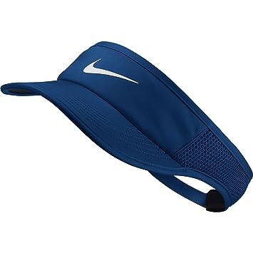 3fd7c0758def1 Nike Aerobill Featherlight Visière de Tennis pour Femme Taille Unique Blue  Jay/Black/White