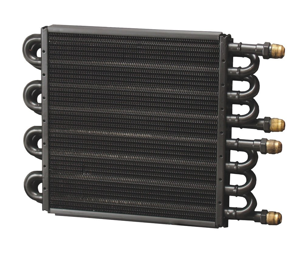 Derale 15301 Dual Circuit Tube and Fin Cooler Core 8 and 8 Pass Dual Core