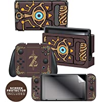 Controller Gear Nintendo Switch Skin & Screen Protector Set Officially Licensed By Nintendo - The Legend of Zelda…