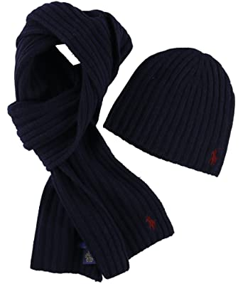 30249d241cbd8 3pc. gloves hat and scarf set 67d9c coupon code polo ralph lauren navy mens  one scarf beanie set blue not applicable 71ca1 4cc9c ...