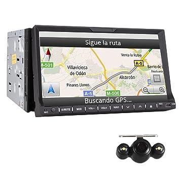 7 pulgadas Win8 Doble 2Din Touch HD Stereo coche de la pantalla de DVD est¨
