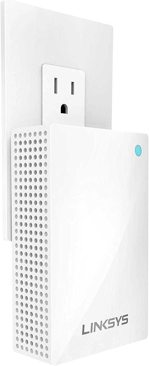 Linksys Velop Whole Home WiFi Intelligent Mesh System Wall Plug-in, Works with Your Velop System to Extend Range & Speed (Renewed)