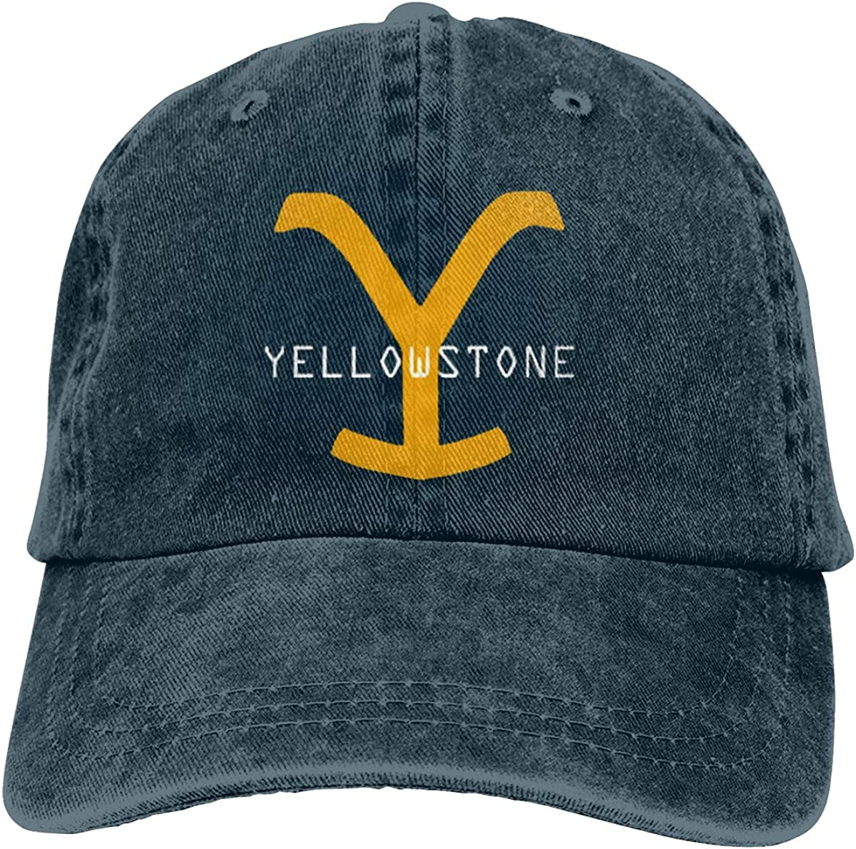 Yellowstone Dutton Ranch Vintage Hat Classic Washed 100/% Cotton Deep Heather Adjustable Cowboy hat for Men and Women