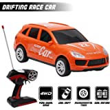 Kurtzy 4WD Sports Drifting Race Car High Speed Toy with Remote Control and Gravity Sensing Steering Wheel