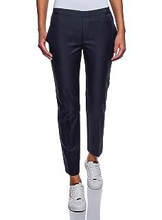 d12848c9fcb306 Promod Pantalon Droit en Lyocell: Amazon.fr: Vêtements et accessoires