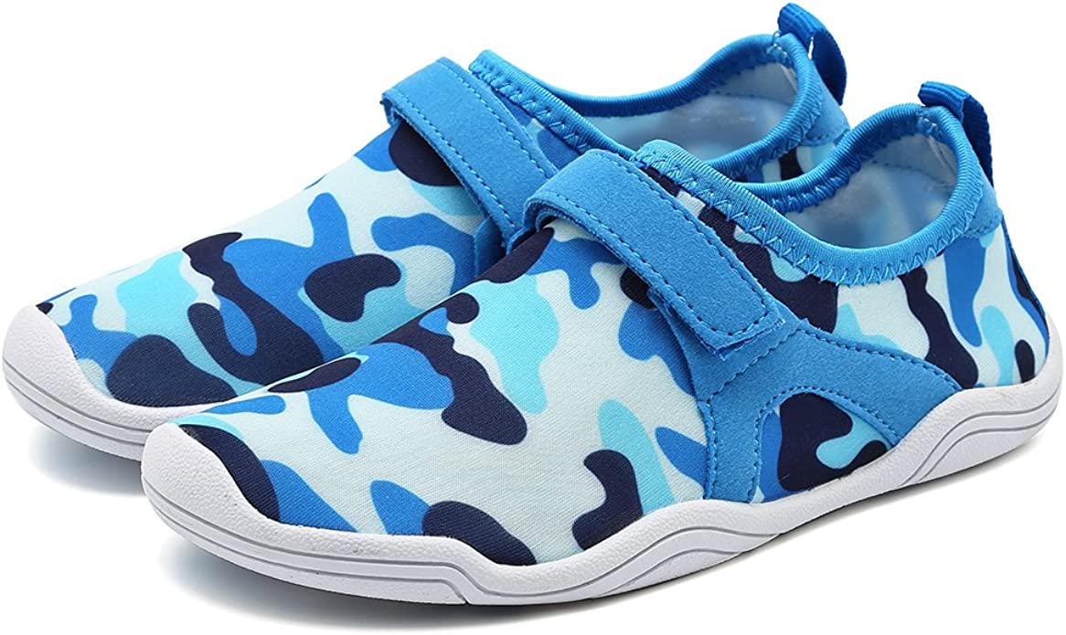 CIOR Toddler Water Shoes Swim Shoes Boy and Girl Aqua Shoes Kids Sport Sneakers Light Weight Walking Shoes