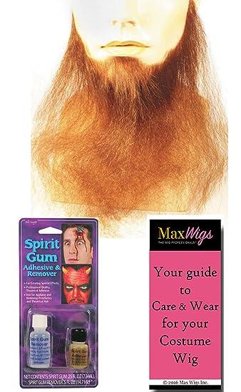 Synthetic Full Goatee Black Beard Ume Accessory