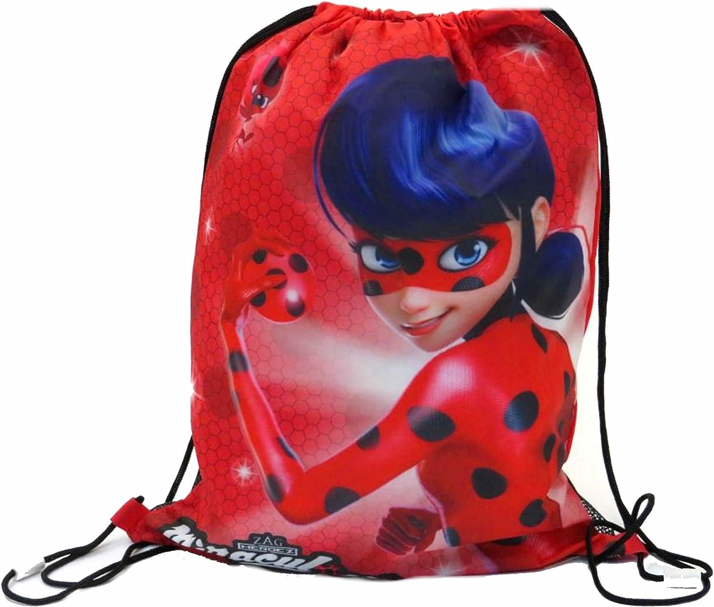 Bolsa escolar  multicolor Ladybug Character Clothing Red