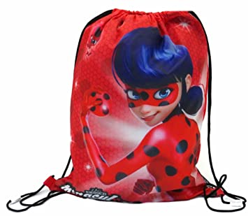 Character Clothing - Bolsa escolar multicolor Ladybug - Red: Amazon.es: Equipaje