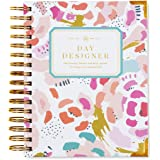 """Day Designer Midyear 2017-2018 Mini Edition Daily Planner, 6.625"""" x 8.3"""", Painterly Floral"""