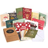 36 pack merry christmas holiday greeting cards bulk box set assorted winter holiday xmas - Cheap Christmas Cards In Bulk