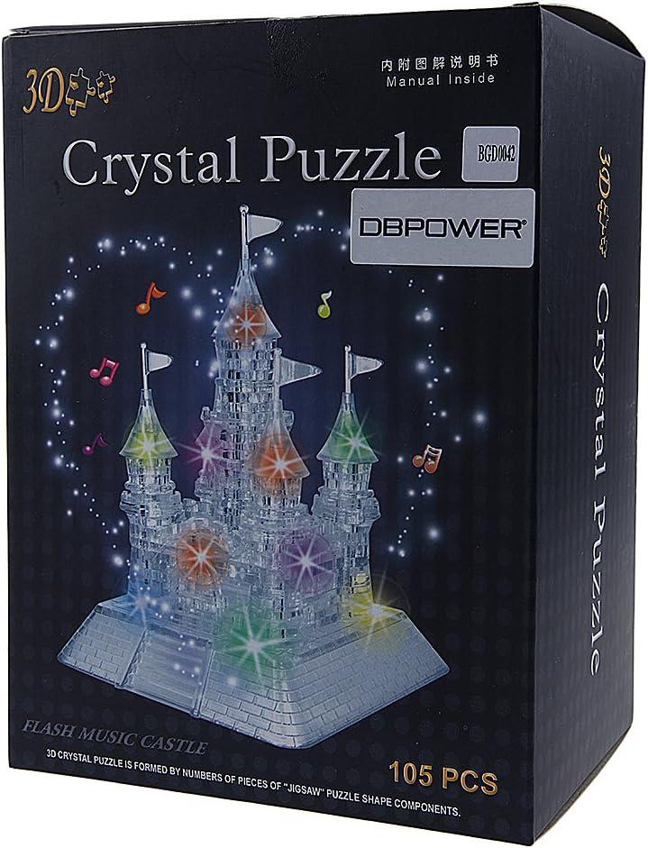 3d crystal puzzle castle instructions 104 pieces