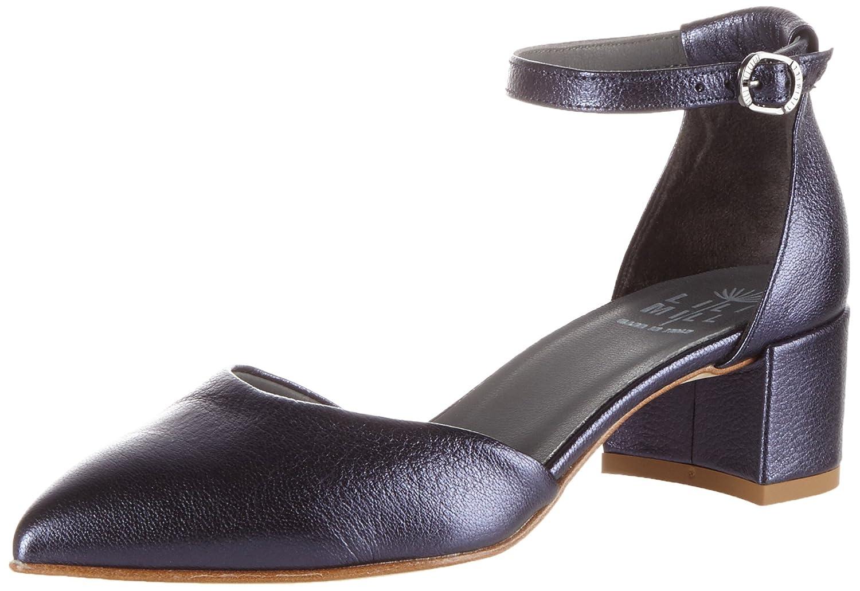Lili Mill Fergie, Zapatos de Tacón con Punta Cerrada para Mujer 40 EU