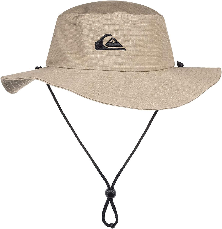 Quiksilver Men's Bushmaster Sun Protection Floppy Bucket Hat