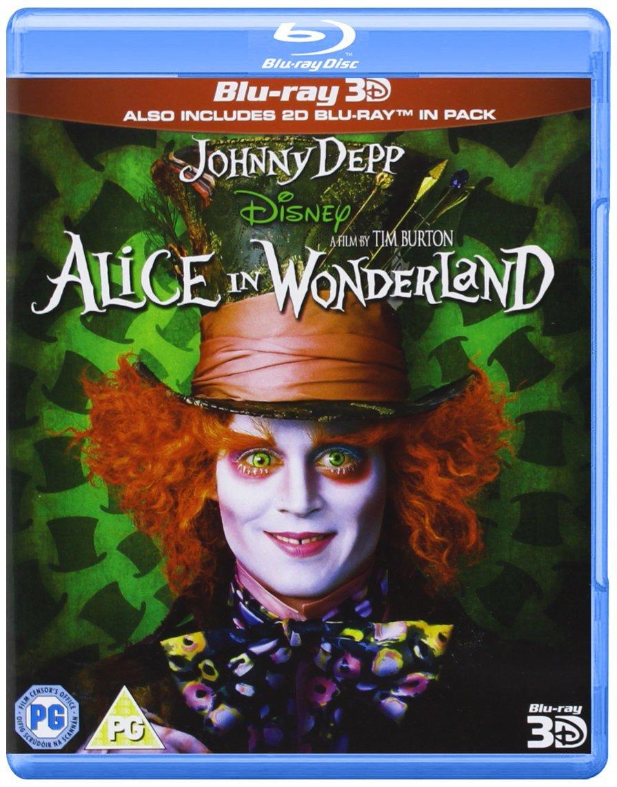 Alice In Wonderland 3D [Reino Unido] [Blu-ray]: Amazon.es: Alice ...
