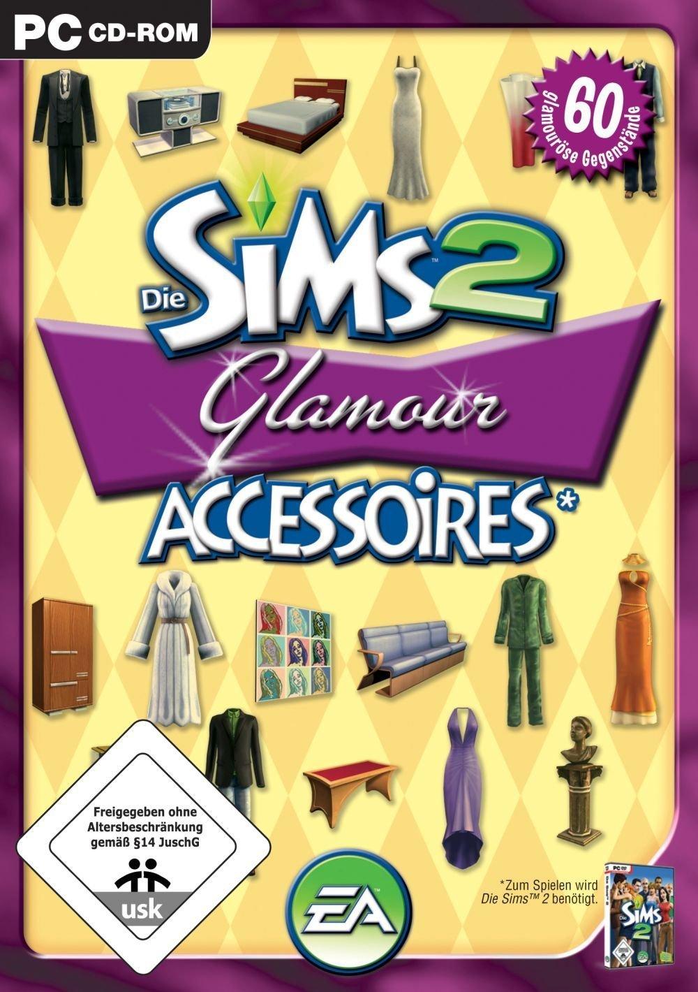 Die Sims 2: Glamour Accessoires: Pc: Amazon.de: Games