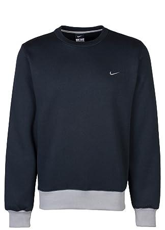 Nike 468017 - Sudadera para hombre, algodón y poliéster, color gris y negro negro negro Talla:xx-large: Amazon.es: Deportes y aire libre