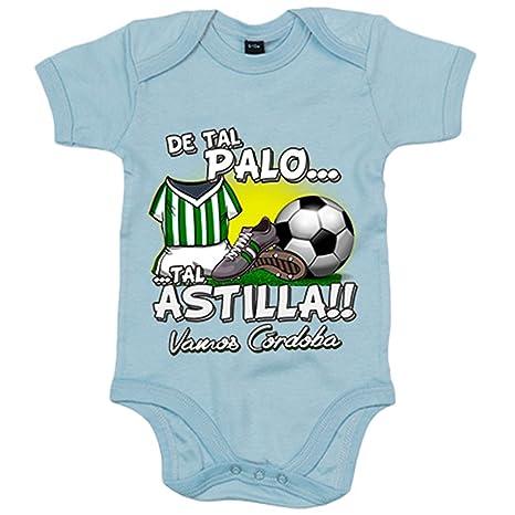 Body bebé De tal palo tal astilla Córdoba fútbol - Blanco, 6-12 ...