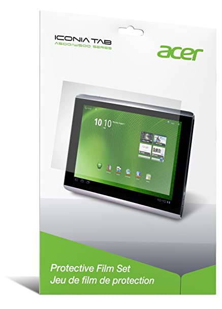 amazon com acer iconia tab a500 a501 protective film set a500f01ag rh amazon com acer tablet a500 user manual Acer Iconia Tab W500