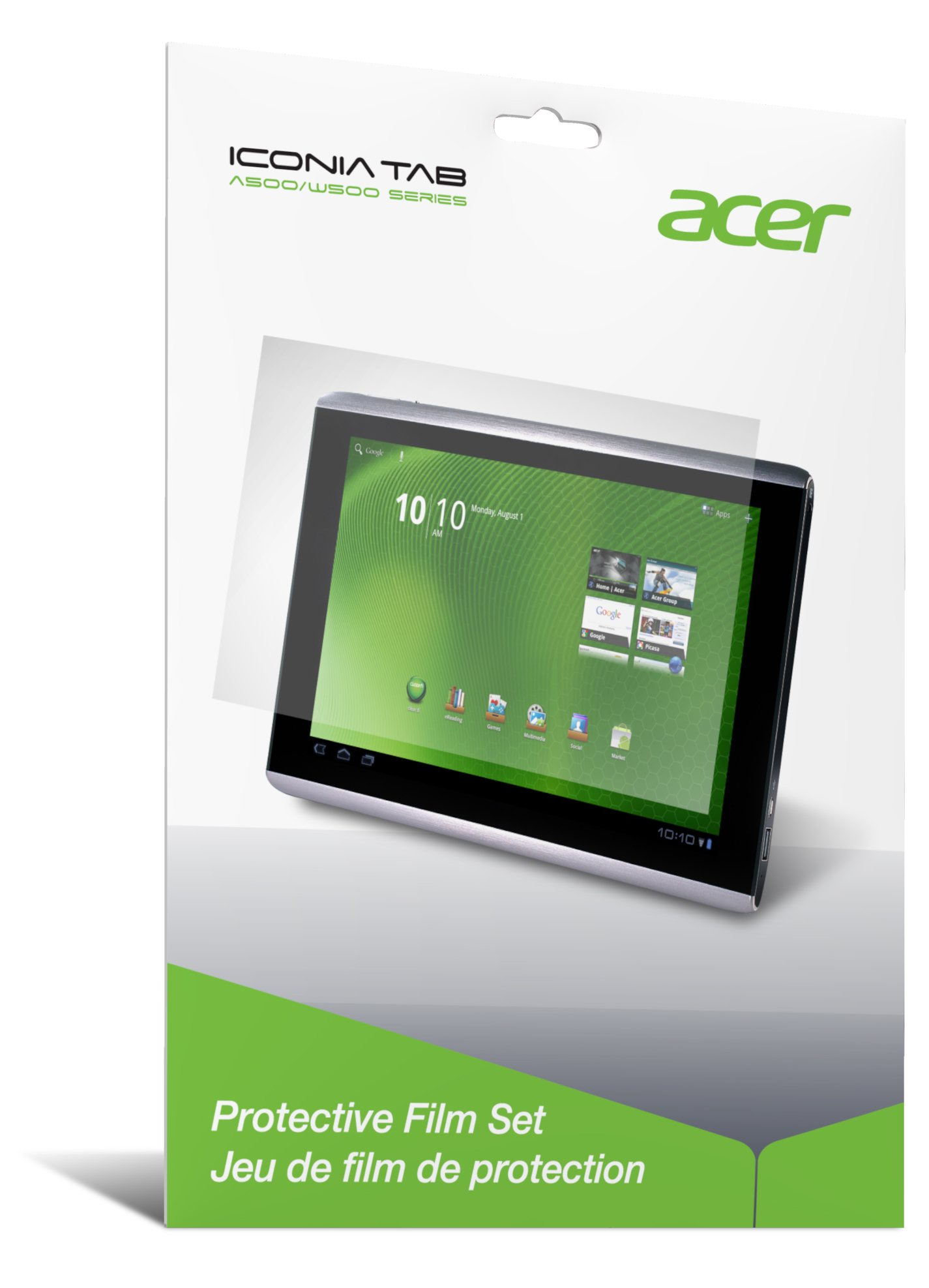 Acer Iconia Tab A500/A501 Protective Film Set (A500F01AG)