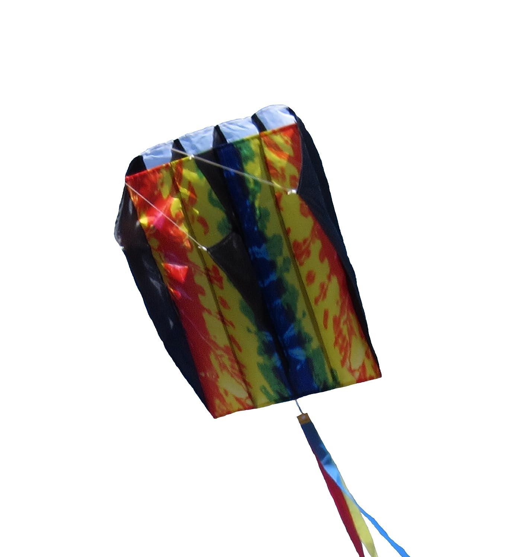 In the Breeze Tie Dye Pouch Parafoil Kite B007E90GCW 絞り染め