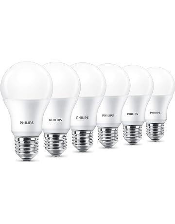 Philips LED Bombilla, plástico, 9 W, color blanco