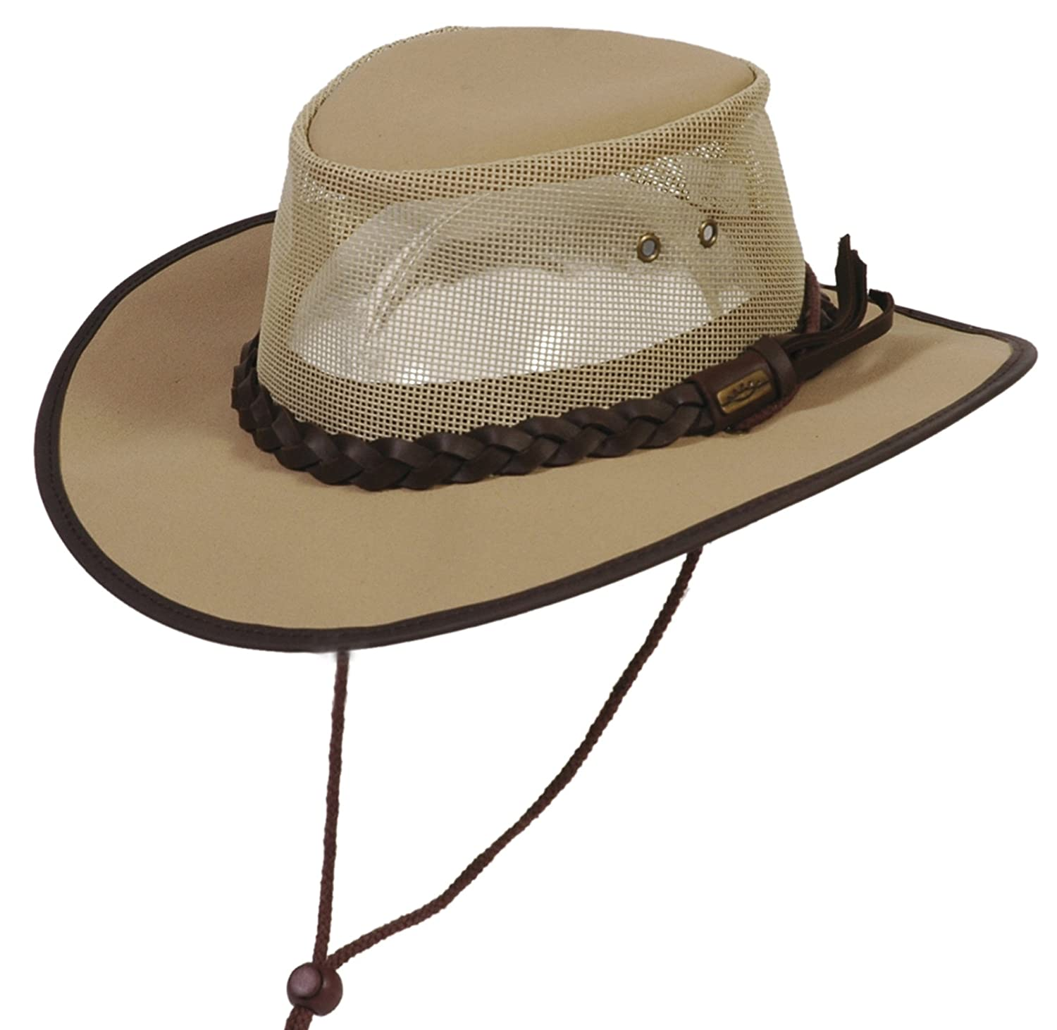 Conner Hats Crushable Waterproof Australian Canvas Outback Hat