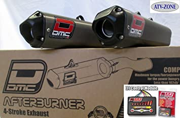 DMC Afterburner Dual Twin Complete Exhaust System with DMC