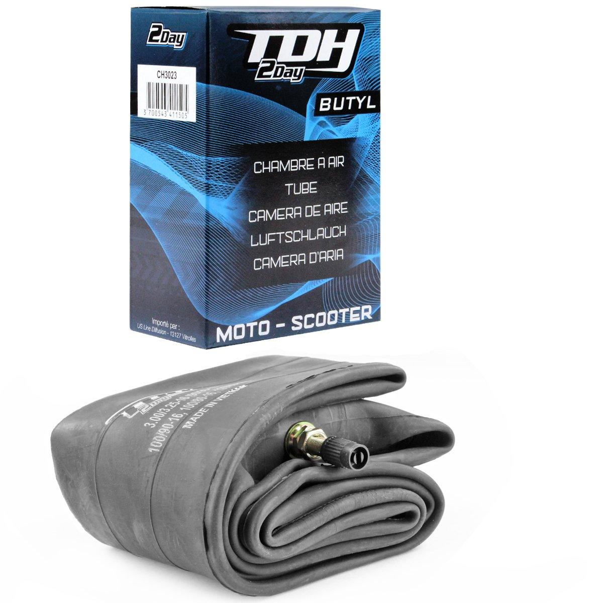 TDH 2 251366 Chambre à Air 4.25-5.10-17 Valve Tr4, 17 Pouces SACIM Distribution
