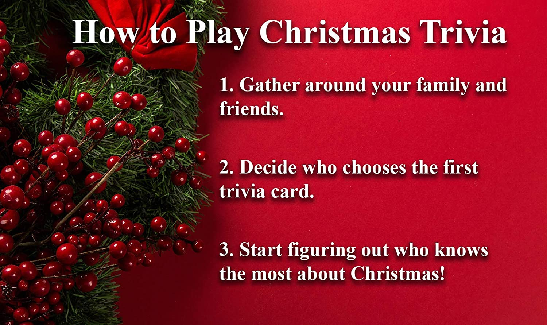 Amazon Tis The Season Christmas Trivia Game The Classic And