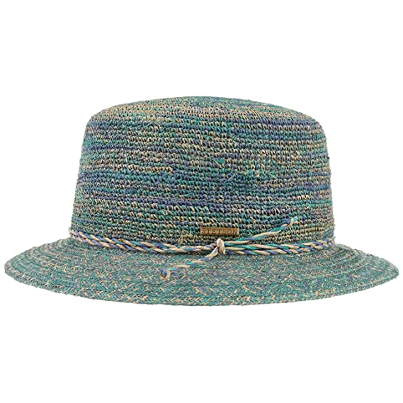 f667023ce2a99f Stetson Raffia Crochet Hat Summer Beach: Amazon.co.uk: Clothing