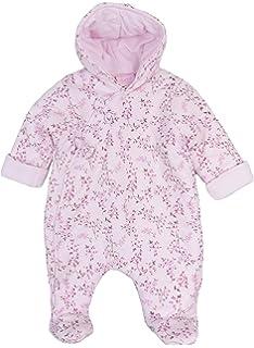 08baf04db4a0 Baby Fleece All in one Lightweight All in One Snowsuit NB 0-3m 3-6m ...