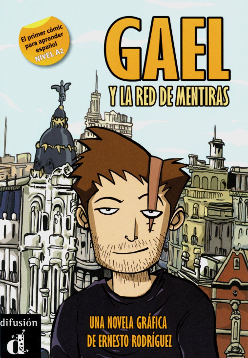 Gael y la red de mentiras: una novela gráfica A2. Comic